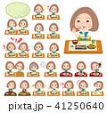 Bob hair green dress women_Meal 41250640