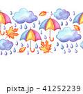 雨 紅葉 くものイラスト 41252239
