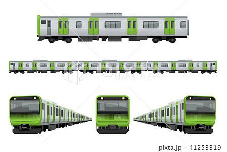 電車、鉄道:山手線セット 41253319