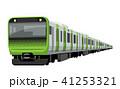 電車 乗り物 列車のイラスト 41253321