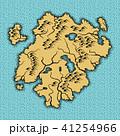 地図 陸 地面のイラスト 41254966
