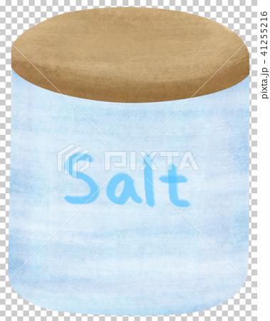 手描き 調味料 塩 しお 41255216
