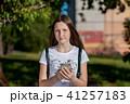 フォン 電話 女の子の写真 41257183