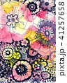 花柄 41257658