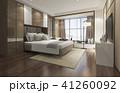ベッド 寝台 寝床のイラスト 41260092