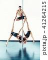 女性 ダンサー 棒の写真 41264215