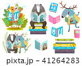 本 ほん 書籍のイラスト 41264283