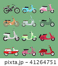 ベクトル モーターバイク 乗り物のイラスト 41264751