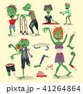 ゾンビ ハロウィン ハロウィーンのイラスト 41264864