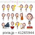 Long hair women_classic music 41265944