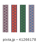Fancy strap border leaves pattern design tapes. 41266178