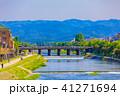 京都 風景 鴨川の写真 41271694