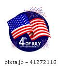 アメリカ 米国 第四番のイラスト 41272116