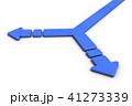 分岐点を表すアブストラクト3DCGイラスト 41273339
