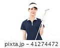 ゴルフ ゴルファー 女性の写真 41274472