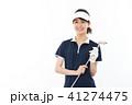 ゴルフ ゴルファー 女性の写真 41274475