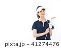 ゴルフ 女性 人物の写真 41274476