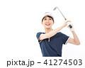 ゴルフ ゴルファー 女性の写真 41274503