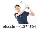 若い女性 ゴルフ  41274504