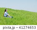 女性 学生 若いの写真 41274653