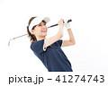 ゴルフ ゴルファー 女性の写真 41274743