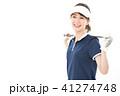 ゴルフ ゴルファー 女性の写真 41274748