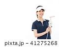 ゴルフ ゴルファー 女性の写真 41275268
