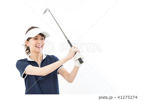 若い女性 ゴルフ 41275274