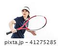 テニス 女性 人物の写真 41275285