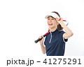 テニス 女性 人物の写真 41275291