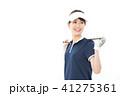 若い女性 ゴルフ 41275361
