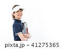 若い女性 テニス 41275365