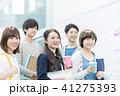 大学生 女性 男性の写真 41275393