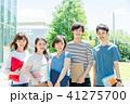 大学生 人物 友達の写真 41275700