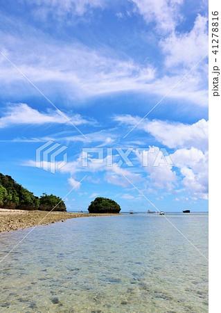 沖縄 青空の川平湾 41278816