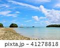 晴れ 海 海岸の写真 41278818