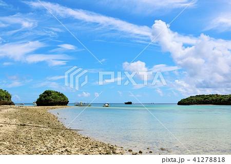 沖縄 石垣島の川平湾 41278818