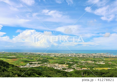 沖縄 石垣島全景 41278821