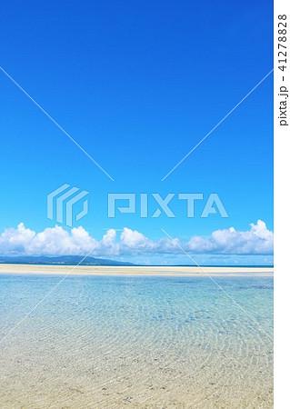 沖縄 竹富島の青い海 41278828