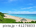 晴れ 海 海岸の写真 41278833