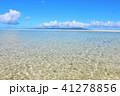 晴れ 海 遠浅の写真 41278856