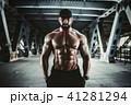 男 男性 筋肉の写真 41281294