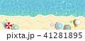 リゾート 夏 ビーチ パラソル 41281895