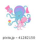 タコ たこ 蛸のイラスト 41282150