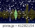 冬のギフト クリスマスカード 41282154