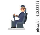 パイロット 操縦士 飛行士のイラスト 41282241