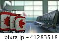 カナダ カナディアン スーツケースのイラスト 41283518