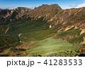 八ヶ岳連峰・中岳から見る横岳と硫黄岳 41283533