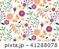 パターン ベクター 花のイラスト 41288078