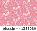 パターン ベクター 花のイラスト 41288080